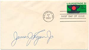 Signed First Day Cover: RYAN, James J.