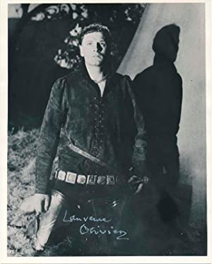 Photograph Signed.: OLIVIER, Laurence (1907-89).