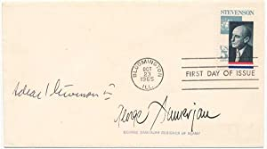 Signed First Day Cover.: SAMERJAN, George (1915-2005).