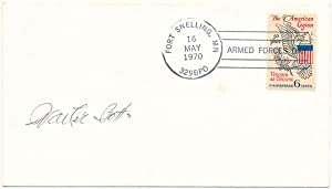Signed Postal Cover.: BOTTS, Walter (1900-72).