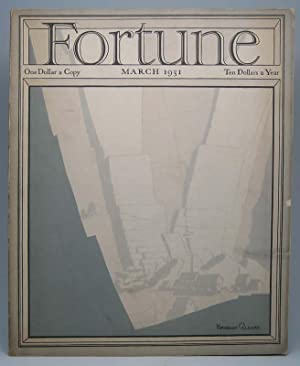 Fortune (Vol. 3, No. 3, March 1931).: LUCE, Henry R. (editor).