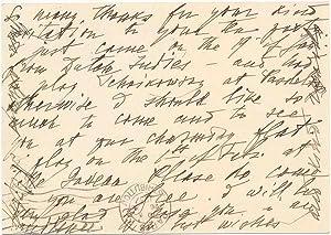 Autograph Note Signed: ORLOV, Nikolai (1892-1964)