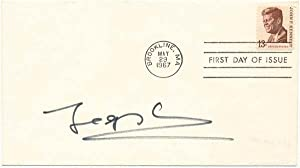 Signed First Day Cover: LOWE, Jacques (1930-2001)