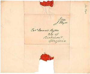 Free-Franked Envelope.: FLOYD, John (1783-1837).