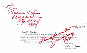 Inscription and Signature.: SHARKEY, Jack (1902-92).