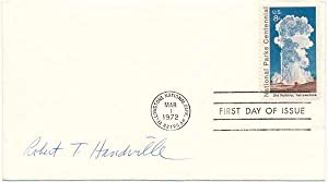 Signed First Day Cover.: HANDVILLE, Robert T. (1924-93).