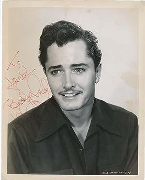 Inscribed Photograph Signed.: DEREK, John (1926-98).