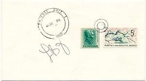 Signed Postal Cover.: JOHNSON, Lady Bird (1912-2007).