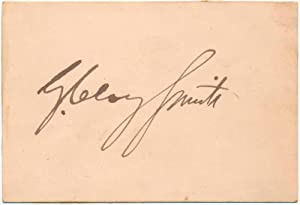 Signature.: SMITH, G. Clay (1826-95).