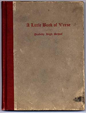 A Little Book of Verse.: COWLEY, Malcolm.
