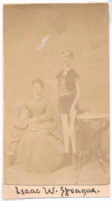 Signature / Carte-de-visite.: SPRAGUE, Isaac W. (1841-?).