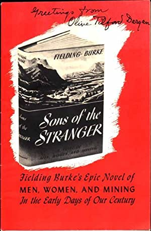 Signed Promotional Booklet.: DARGAN, Olive Tilford (1869-1968).