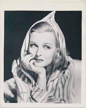 Photograph Signed: BENNETT, Joan (1910-90)
