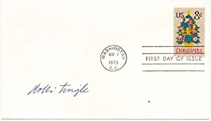 Signed First Day Cover: TINGLE, Dolli (1911-93)