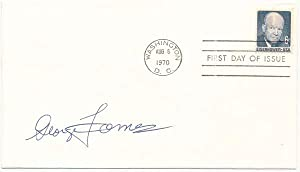 Signed First Day Cover.: TAMES, George (1919-94).
