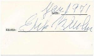Signature: BRUHN, Erik (1928-86)