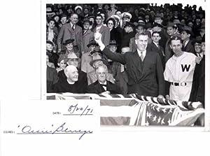 Signature / Unsigned Photograph.: BLUEGE, Oswald