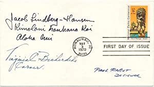 Signed First Day Cover.: RABUT, Paul (1914-83).