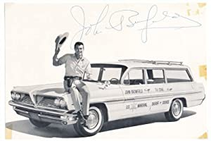 Photograph Signed.: BROMFIELD, John (1922-2005).