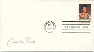 Signed First Day Cover: PONTES, Crimilda (1927-2000)