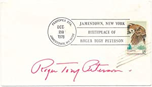 Signed Commemorative Cover.: PETERSON, Roger Tory (1908-96).