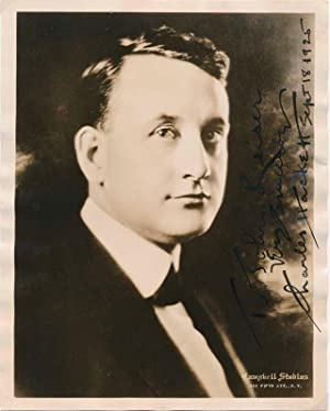 Inscribed Photograph Signed.: HACKETT, Charles (1899-1942).