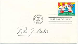 Signed First Day Cover: DUBOS, Rene J. (1901-82)