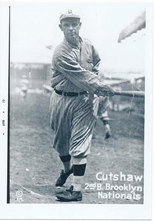 Signature.: CUTSHAW, George W. (1887-1973).
