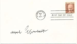Signed First Day Cover: EISENSTAEDT, Alfred (1898-1995)