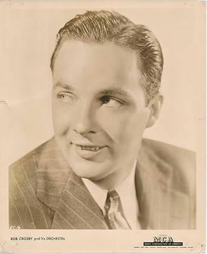 Signature / Unsigned Photograph.: CROSBY, Bob (1913-93).