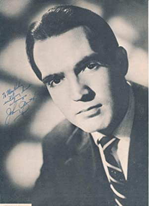 Inscribed Photograph Signed: SMITH, Johnny (1923-2013)