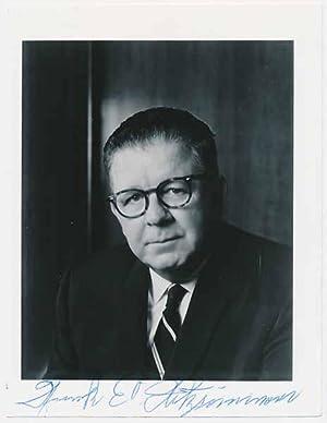 Photograph Signed: FITZSIMMONS, Frank E. (1908-81)