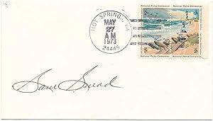 Signed Postal Cover.: SNEAD, Sam (1912-2002).