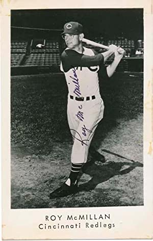 Photograph Signed.: McMILLAN, Roy (1929-97).