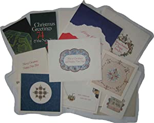 Collection of 14 company Christmas cards