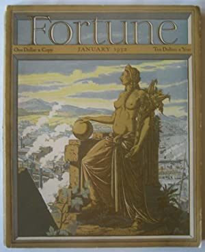 Fortune (Vol. V, No. 1, January 1932).: LUCE, Henry R. (editor).