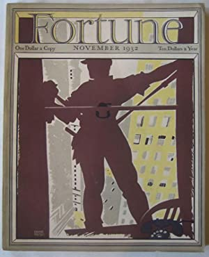 Fortune (Vol. VI, No. 5, November 1932): LUCE, Henry R. (editor)