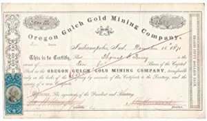 Printed Document Signed: CALIFORNIA / GOLD MINE)
