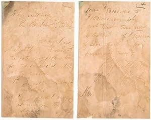 Autograph Letter Signed.: HATCH, Rufus (1832-93).