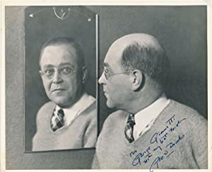 Typed Letter Signed / Inscribed Photograph Signed.: BROOKS, George S. (1895-?).