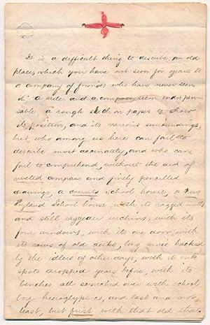 Autograph Manuscript (unsigned): NEW ENGLAND / EDUCATION)