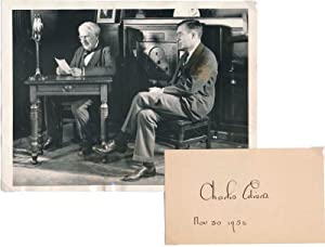 Signature / Unsigned Photograph: EDISON, Charles (1890-1969)
