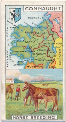 Counties and Industries: CIGARETTE CARDS -- BRITISH)
