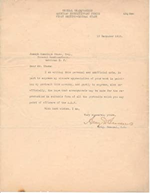 Typed Letter Signed.: ANDREWS, Avery D. (1864-1959).