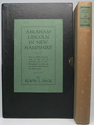 Abraham Lincoln in New Hampshire: PAGE, Elwin L.
