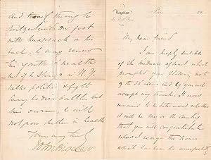 Autograph Letter Signed: BIGELOW, John (1817-1911)