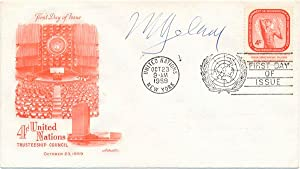 Signed First Day Cover: BELAUNDE, Victor Andres (1883-1966)