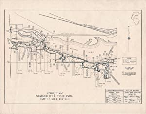 A Project Map of Starved Rock State Park Camp La Salle Dsp No. 2