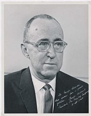 Typed Note Signed / Inscribed Photograph Signed.: UMBREIT, George M. (?-?).