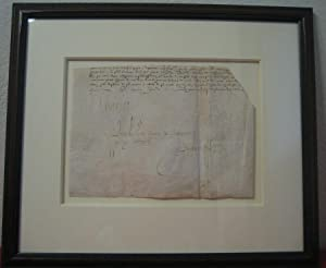 Document Signed: CHARLES IX (1550-74)